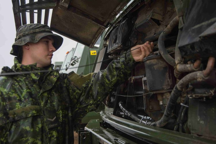 Mobile Support Equipment Operator   Canadian Armed Forces